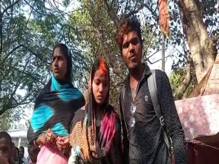 परिवार वालों ने रोकी राह, तब कोर्ट परिसर में प्रेमी युगल ने रचाई शादी, कहा- जिंदगी भर रहेंगे साथ