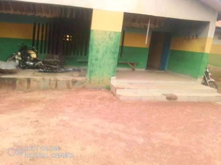 Gunmen Burn Nkporo Police Station In Abia (Photos)