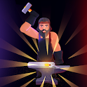 Blacksmith Craft Clicker - idle crafting tap games icon