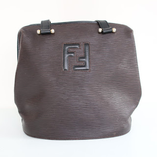Fendi Vintage Epi Leather Shoulder Bag