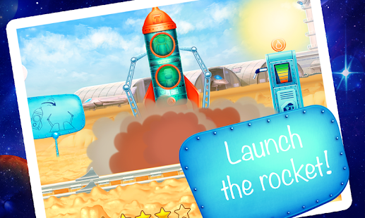 Space vehicles (app for kids)- screenshot thumbnail