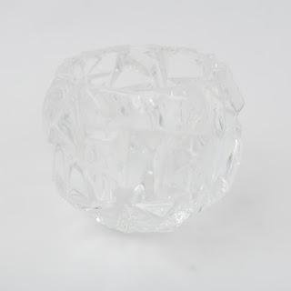 Tiffany & Co.Rock Cut Candleholder