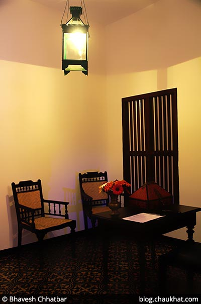 Reception seating at Savya Rasa [Koregaon Park, Pune]