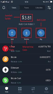 Cara membuat crypto wallet address