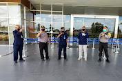 Polsek Delta Pawan Sosialisasikan Persiapan New Normal Di City Mall Ketapang