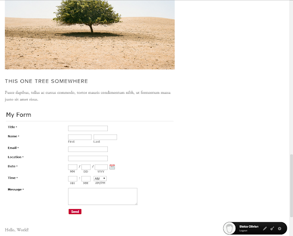 123FormBuilder how to publish online forms on Squarespace