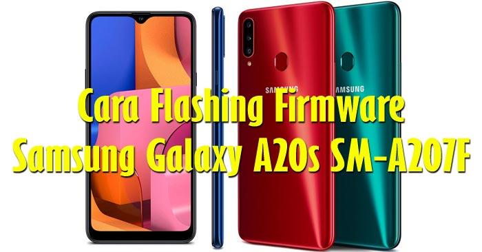 Cara Flash Samsung Galaxy A20s SM-A207F