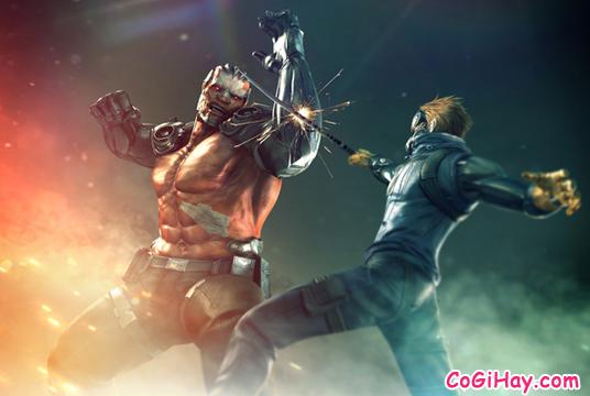 Kỵ sĩ và zombie siêu cấp trong game đột kích