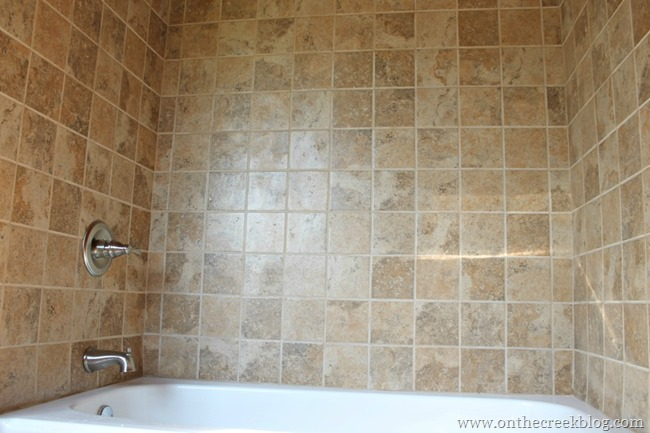 bathtub tile