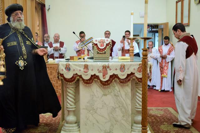 His Holiness Pope Tawadros II visit to St. Mark LA - DSC_0218.JPG