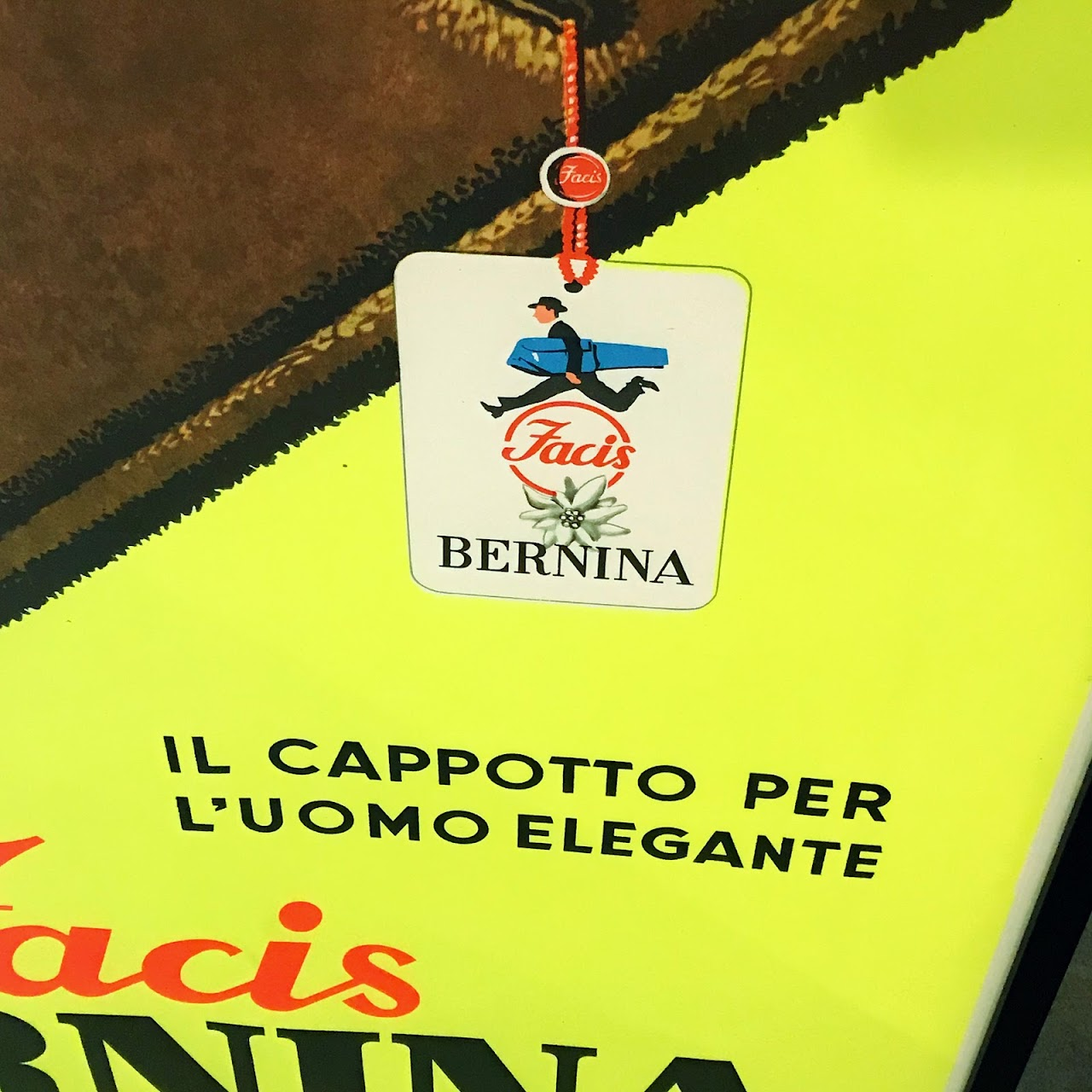 Armando Testi Large Facis Bernina Framed Poster