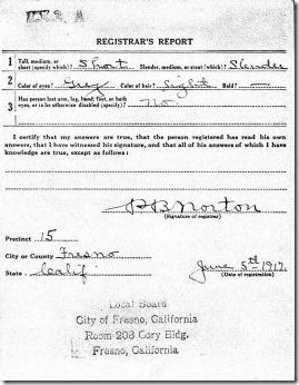 WWI Registration pg 2