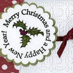 CH0149-F Holly Merry Christmas
