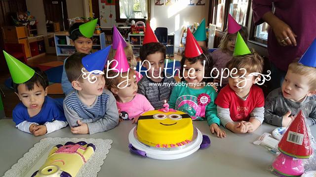Minion cake - Ruthie Lopez - My Hobby My art 2