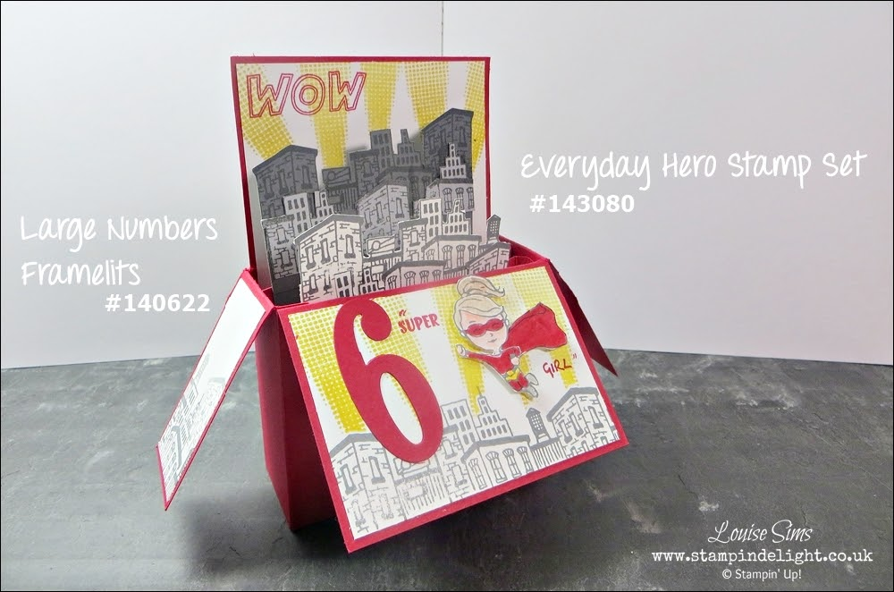 Stampin' Up Everyday Hero Card in a Box