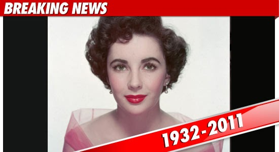 elizabeth taylor died this morning at the age of 79