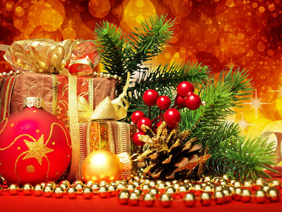 besplatne Božićne pozadine za desktop 1152x864 free download čestitke blagdani Merry Christmas kuglice za bor
