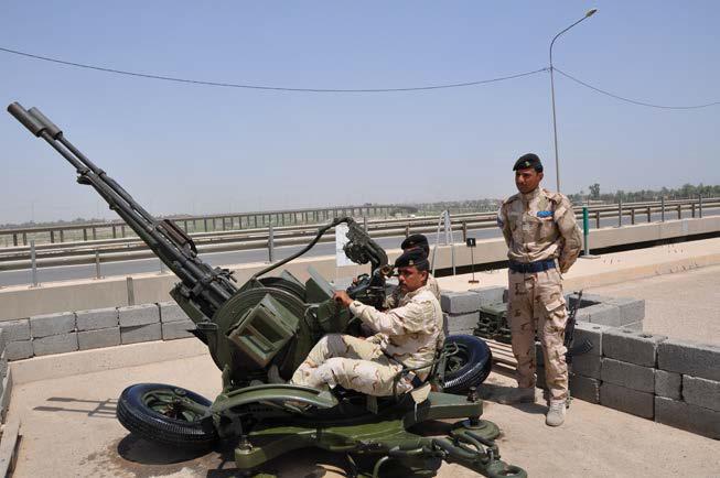اعاد  تاهيل  الاسلحة القديمة في الجيش العراقي Adc+23mm