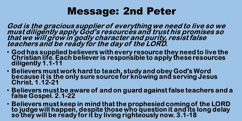 [Message-2nd-Peter4]