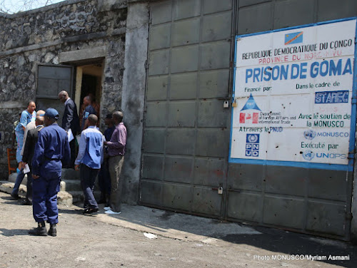 Rutshuru : 17 détenus transférés à Goma dans état critique