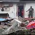 8 Rumah Terdampak Banjir 1 Bangunan Ambrol Tersapu Longsor di Parungkuda Sukabumi