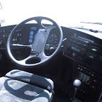 Het dashboard van de Setra van Van Fraassen Travelling bus 457