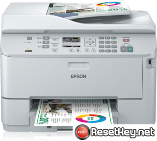 Reset Epson WorkForce WP-4592 printer Waste Ink Pads Counter