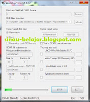 Membuat Bootable Flash Disk dengan Win Setup From USB