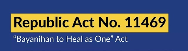 No NEED TO PAY Monthly Amortization while on ECQ under Bayanihan to Heal as One Act.