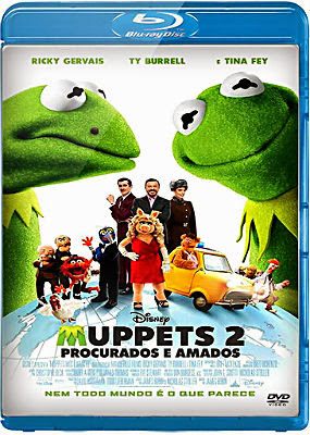 Filme Poster Muppets 2 - Procurados e Amados BDRip XviD Dual Audio & RMVB Dublado e Legendado