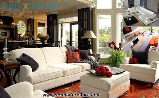 Trang trí nội thất phòng khách hiện đại-1