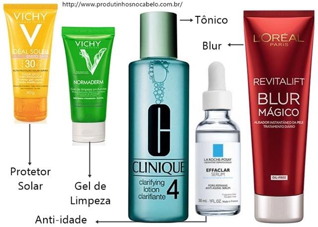 Produtos para Fechar os Poros