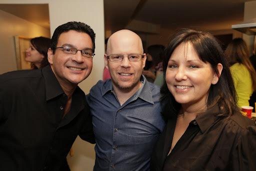 Tony, Steve Freeman (our WONDERFUL photographer), and Liz