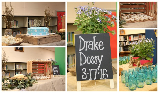 Drake Dossy School Baby Shower
