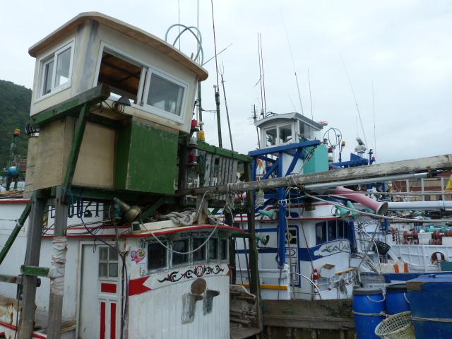 TAIWAN .Le port de SU AO - P1090083.JPG