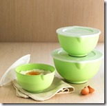 Salad or Serving Bowls with Lids
