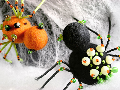 Spooky Spider Craft Project