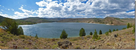 Willow Creek Reservoir, Colorado