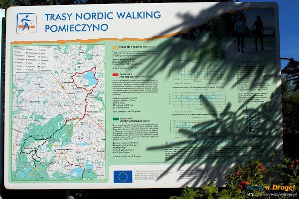 Trasy Nordic Walking w Pomieczynie