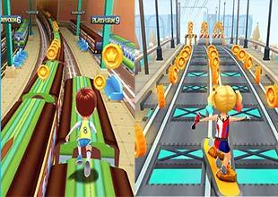 لعبة المغامرات  Subway Tom Run