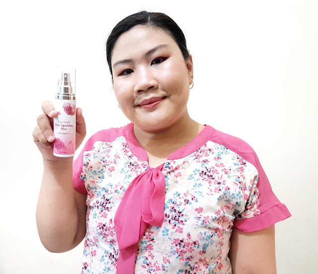 Review Althea x Titi Kamal Stay Fresh Body Sparkling Mist