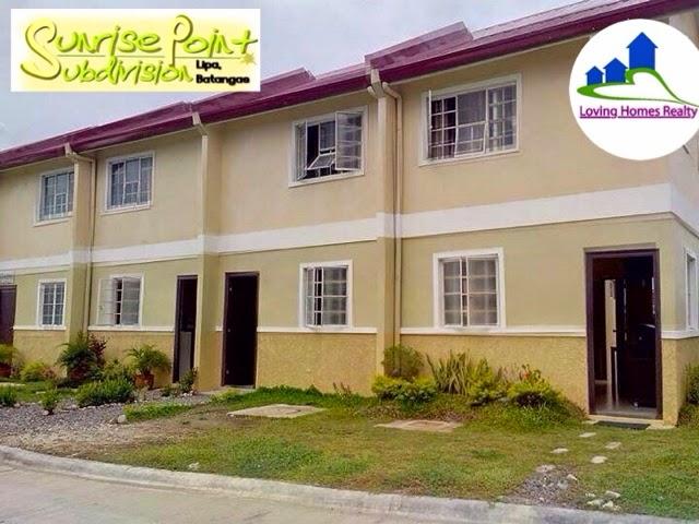 Sunrise Point Lipa City Batangas Rent To Own House Along Hiway NearSMLipa B