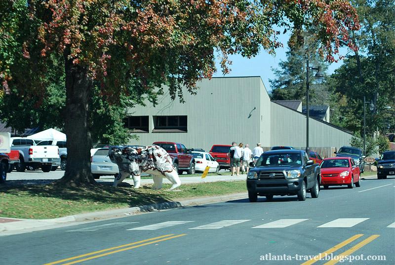Город Чероки, Северная Каролина