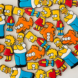 galletas decoradas de los simpson