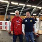 Gary Zanolini and John Berto helping out