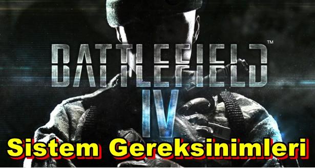 Battlefield 4 PC Sistem Gereksinimleri