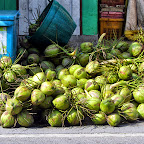 Bangkok - Kokosnüsse