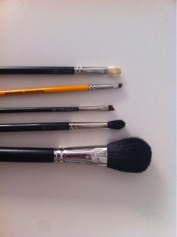 MAc brushes blog sale