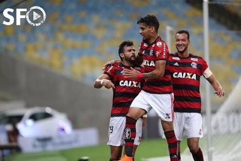 Flamengo Ganha No Maracanã e Se Matem Na Liderança.
