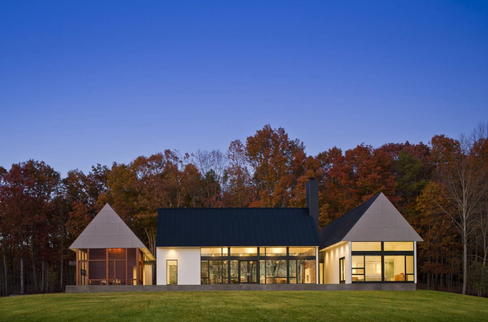 Becherer House design by  Robert M. Gurney Architect